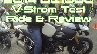 10. 2014 Suzuki DL1000 V-Strom Bike Review & Test Ride