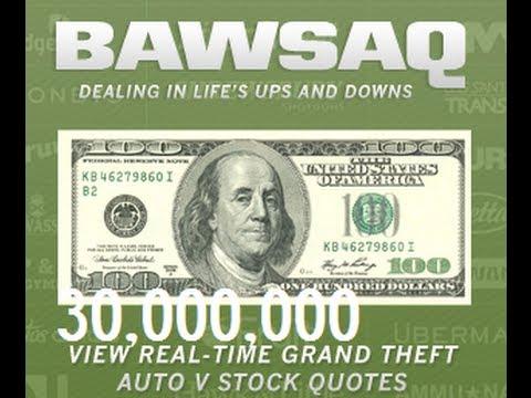 GTA V Online Investing In Bawsaq 30 Million in Profit