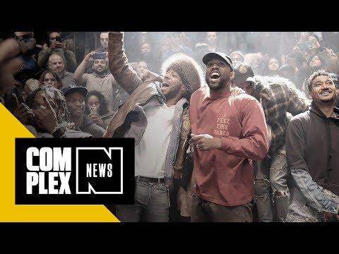 Kanye West Reveals Tracklist for Kid Cudi Collab Album