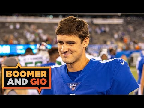 Video: Daniel Jones looked IMPRESSIVE to the naked eye, Dwayne Haskins not so much | Boomer & Gio