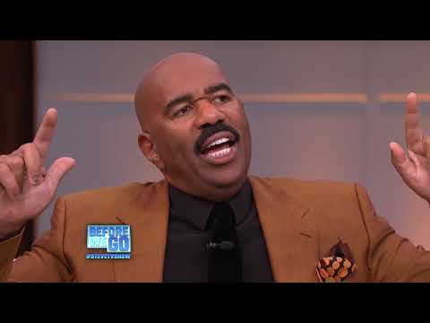 It's Time To Go || STEVE HARVEY