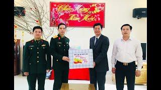 Phó Bí thư Thường trực Thành ủy Phạm Tuấn Đạt thăm, chúc Tết các đơn vị và cơ sở tôn giáo