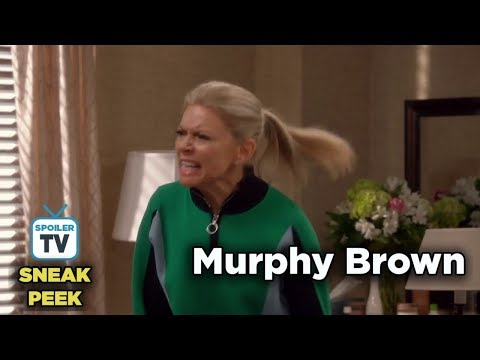"Murphy Brown 11x08 Sneak Peek ""The Coma and the Oxford Comma"""