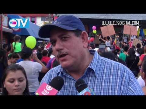 Estelí se desbordo a las calles para dar inicio a la campaña de la buena esperanza del frente sandinista