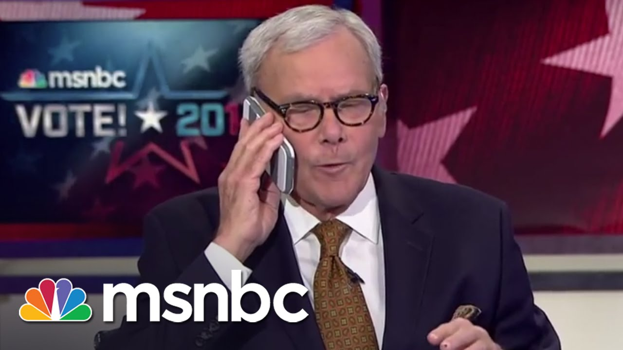 Tom Brokaw Receives Breaking Grocery Alert