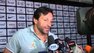 "Raúl Pérez: ""Tuvimos la pelota para cerrar el partido"""