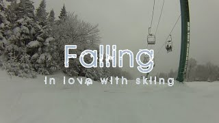 Falling - Ski and get back to skiing