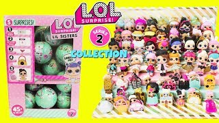 Video LOL SURPRISE Series 2 FULL COLLECTION With Cupcake JR + Full Case of LOL LITTLE SISTERS Unboxing MP3, 3GP, MP4, WEBM, AVI, FLV Oktober 2017