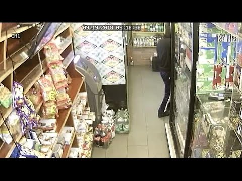 Raw Video: Police Seek ID On Bronx Deli Robbery Suspect