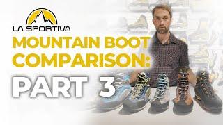 La Sportiva Mountaineering Boots 3 Season by WeighMyRack