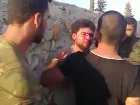 A Syrian tortured by the Assad Militia.