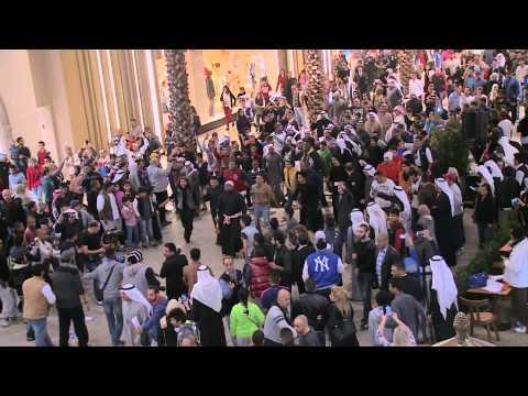 Official Gulf Bank Kuwait Flash mob - فلاش موب بنك الخليج الكويت