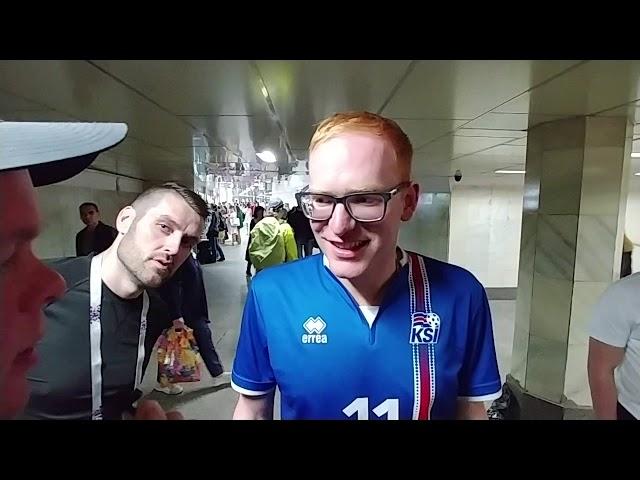 Svavar Elliði í afmælisstuði: Ísland vinnur 2-0
