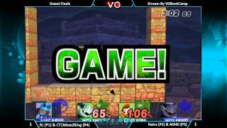 Unexpected stages; Doubles Grand Finals on Mushroomy Kingdom and Custom Stages at KTAR 7