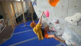 We Are Climbing With Valter Today - New Crew Member by Eric Karlsson Bouldering