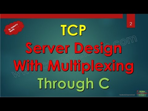 part1 - step by step implementation of tcp-server with multiplexing