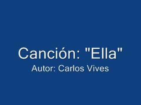 Ella Carlos Vives