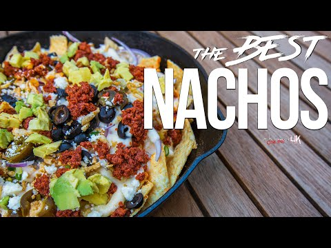 The Best Nachos Recipe | SAM THE COOKING GUY 4K