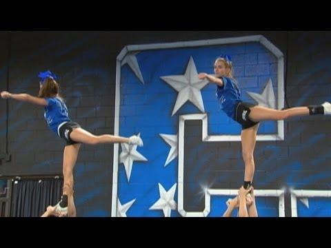 teen cheerleaders