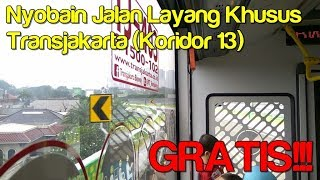 Video [TRIP] Nyobain Busway Layang Koridor 13 (Tendean - Ciledug). GRATIS! MP3, 3GP, MP4, WEBM, AVI, FLV Agustus 2017