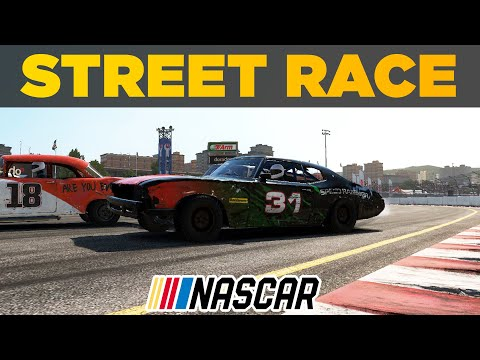 Street Race in NASCAR? | NASCAR Extreme Wreckfest Series | Season 1 Episode 7