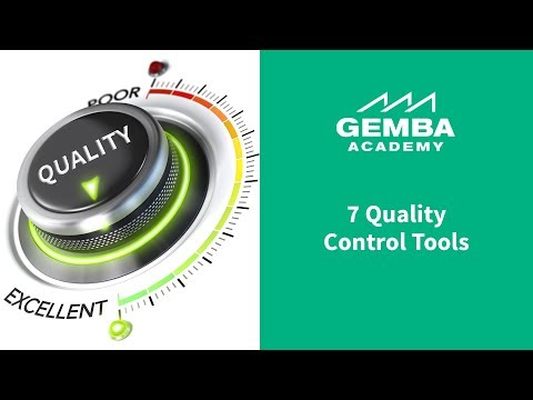 quality - http://GembaAcademy.com -- Learn what the 7 QC (Quality Control) Tools are and how they can be applied in any industry no matter if you produce widgets in a ...