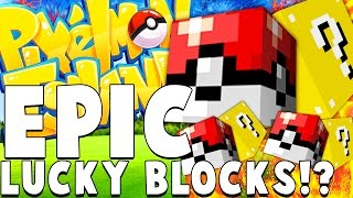 LEGENDARY POKEMON LUCKY BLOCKS - Minecraft PIXELMON ISLAND - Pokemon QUESTS