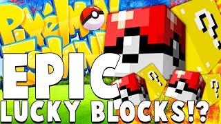 LEGENDARY POKEMON LUCKY BLOCKS - Minecraft PIXELMON ISLAND - Pokemon QUESTS