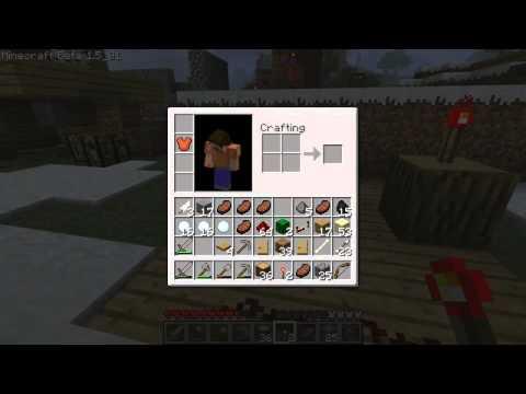【Minecraft】真:同時に開く両開きのドア作成【マインクラフト】