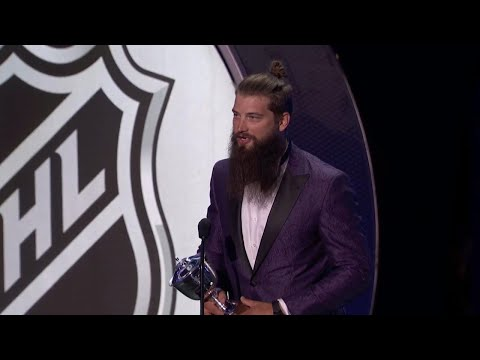 Video: Burns wins first Norris Trophy