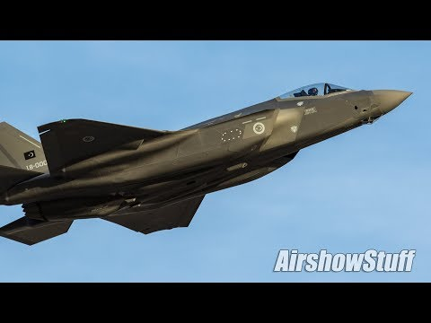 Various clips of military aircraft...