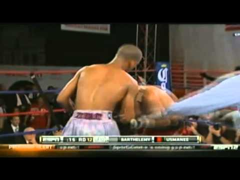 ESPN Friday Night Fights &#8211; January 4th 2013 &#8211; Arash Usmanee Vs Rances Barthelemy (Awful decision)