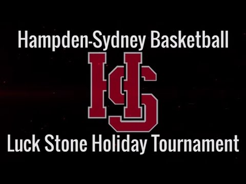 Hampden Sydney Basketball - 2015 Luck Stone Holiday Tournament Champions