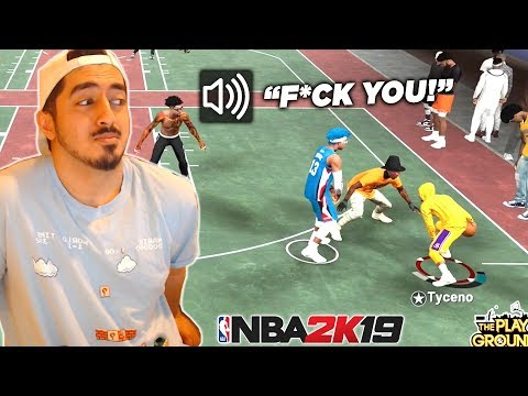 My Shot Creator Makes a Kid RAGE on Live Stream! NBA 2K19 Gameplay - Tyceno