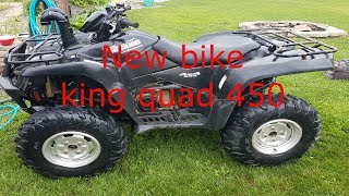 2. 2007 Suzuki King quad 450 walk around