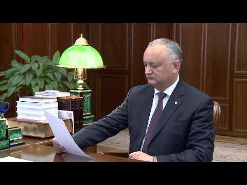 Игорь Додон провел рабочую встречу с Ириной Влах