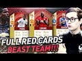 EIN KOMPLETTES FUT CHAMPIONS REWARDS TEAM!! ⛔️😱🔥 FIFA 18 Ultimate Team Full Red Cards