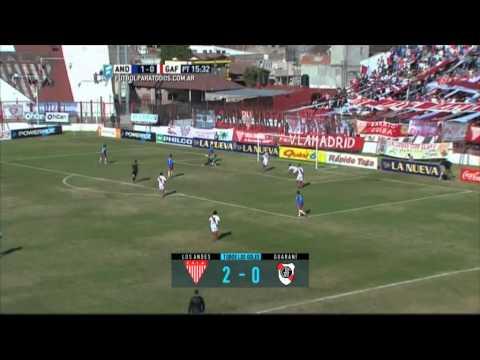 Todos los goles. Fecha 25. B Nacional 2015. FPT