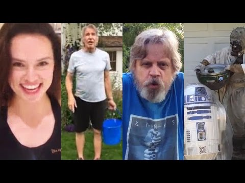 cast - Star Wars Cast Get Wet For ALS Ice Bucket Challenge Subscribe Now! ▻ http://bit.ly/SubClevverMovies The ALS Ice Bucket Challenge travels to a galaxy far, far away! That's right, the Star...