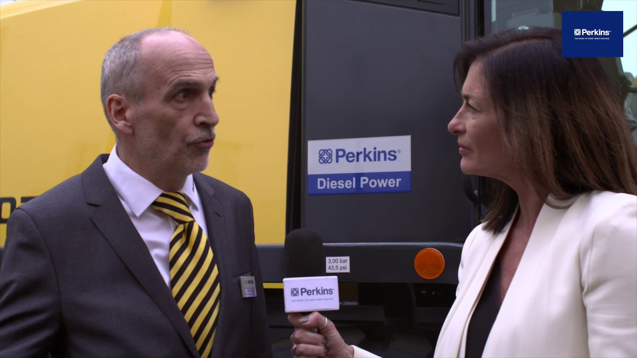 Thomas Kutschke, head of R&D at GP Papenburg on the EU Stage V Perkins®1206J-E70TA engine