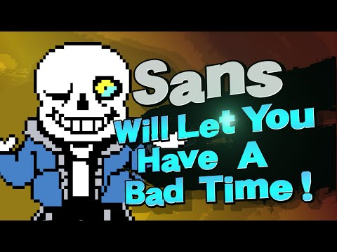 Super Smash Flash 2 - Sans Mod