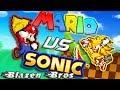 Mario Vs Sonic   Bash [Sprite Animation]   Blazen Bros