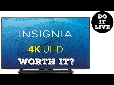 What to look for in a 4K TV - $449 Insignia 43
