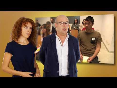 María Isabel Alemany y Francisco José Oncina, profesores de EASDA en #FocusPyme L'Alacant[;;;][;;;]
