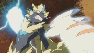 Ash Vs Zeraora  Full Fight    Pokemon  The Power Of Us   Amv