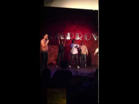 Workaholics Season 3 finale flex-off at the SJ Improv