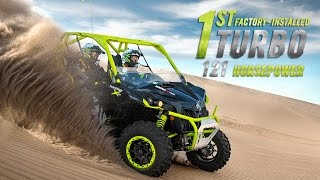 6. The 121-HP Can-Am Maverick X ds Turbo | Full-length