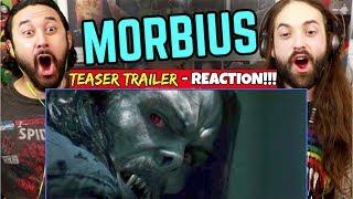 MORBIUS - Teaser TRAILER   REACTION!!!