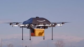 Amazon Testing Drone Delivery System - YouTube