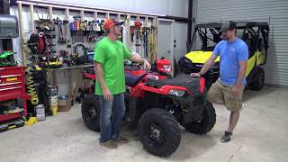 9. New Polaris Sportsman 850 and New Sportsman 570 First Ride